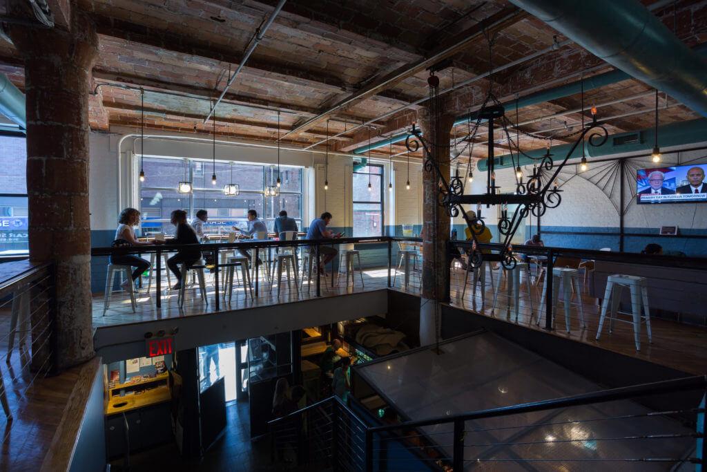Common Area & Hot Desks