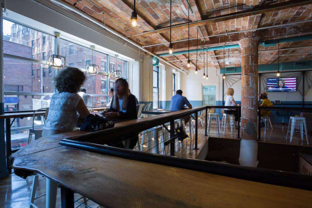68 Jay Street Hot Desk Area