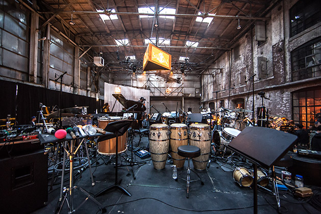 Greenpoint Terminal Warehouse Event Set-Up